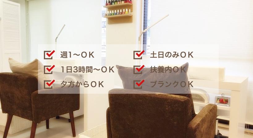 東京の銀座にあるネイルサロンシシ